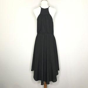 Bisou Bisou Dresses - Bisou Bisou Black Spaghetti High Low Dress A010472